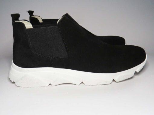 Sneakers camoscio nero
