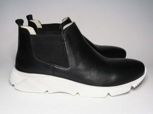 Sneakers nappa nero